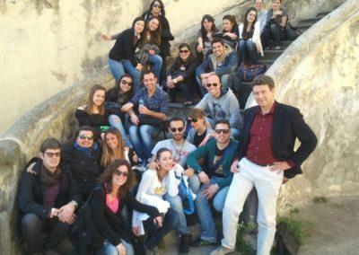 2012.03.27 Classe Corso Teorie e Tecniche dei Linguaggi Crossmediali