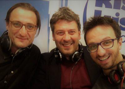 2017.03.11 Radio KissKiss con Marco Pesacane